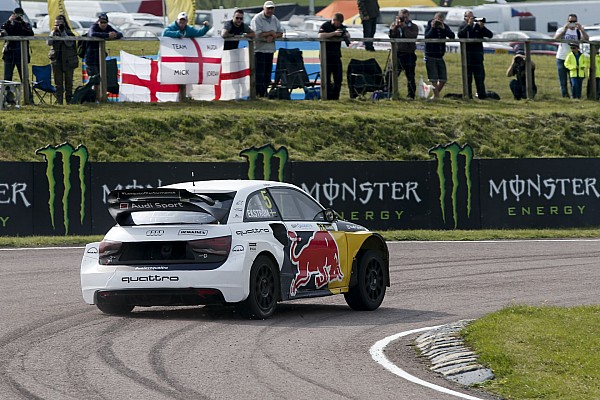 05 Mattias EKSTRoM, EKS, Audi S1, action during the Great Britain FIA WRX World Rallycross Championship 2016 at Lydden Hill on May 27 to 29 - Antonin Grenier / DPPI