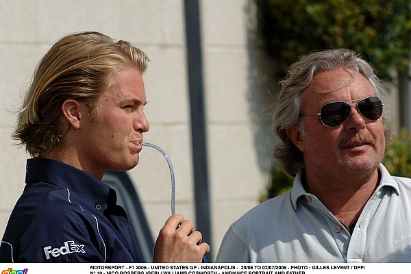 MOTORSPORT - F1 2006 - UNITED STATES GP - INDIANAPOLIS - 29/06 TO 02/07/2006 - PHOTO : GILLES LEVENT / DPPI N¡ 10 - NICO ROSBERG (GER) / WILLIAMS COSWORTH - AMBIANCE PORTRAIT AND FATHER KEKE FAMILY