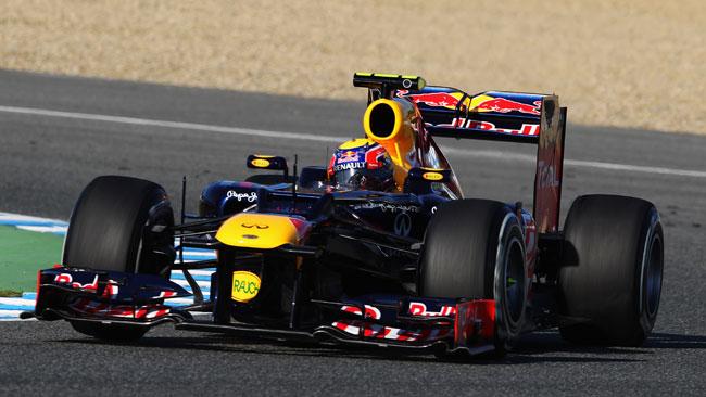 Jerez, Day 2, Ore 11: Webber scende sotto all'1'20