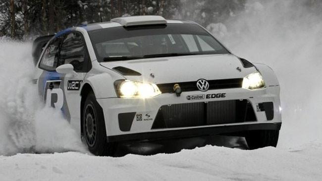 Primo test per la Volkswagen Polo R WRC