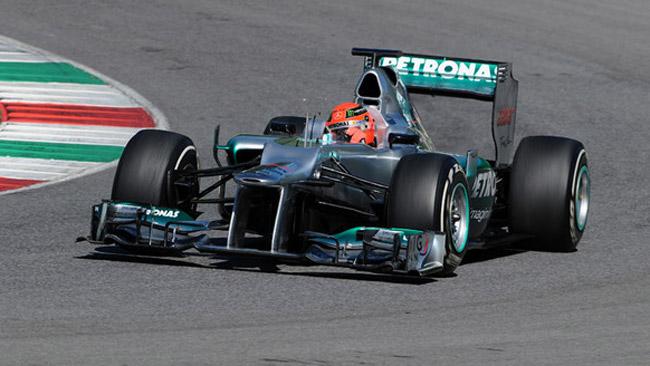 Schumi duro con Pirelli: