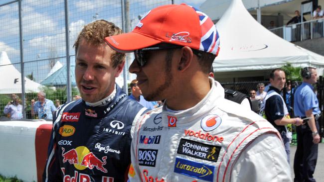 Hamilton risponde a Vettel: