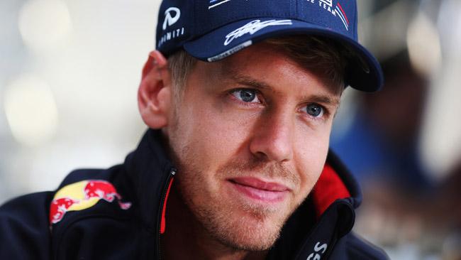 Vettel scaramantico: