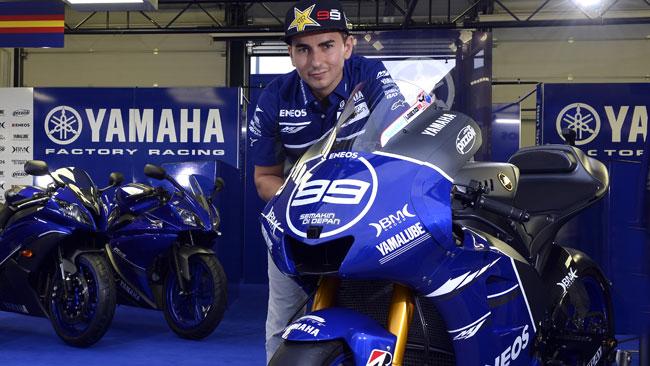 La Yamaha presenta la livrea speciale