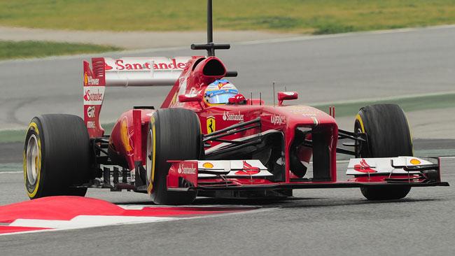 Barcellona, Day 3, Ore 13: Alonso sotto all'1'22