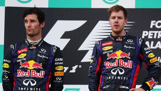 Webber duro con Vettel: