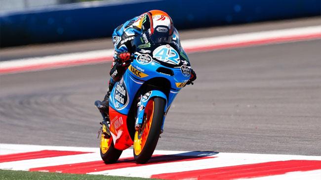 Alex Rins trionfa nella gara
