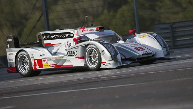 L'Audi porta anche la R18