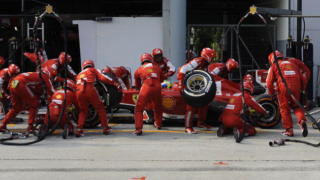 La Ferrari punge sulle gomme con