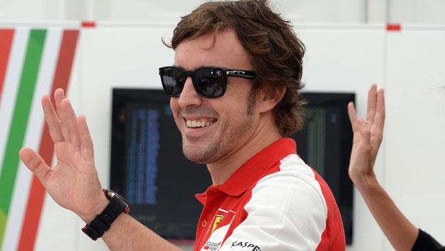 Alonso stuzzica Kimi: