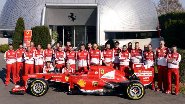La Ferrari riceve il premio