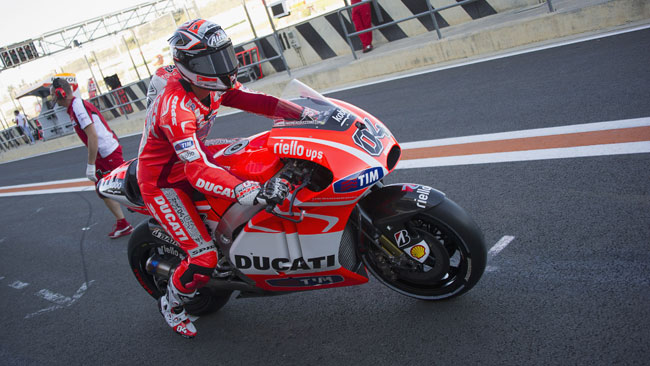 Dovi e Crutchlow sulla Ducati