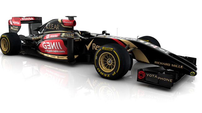 Sorpresa: ecco la Lotus E22 col