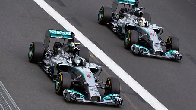 Rosberg cauto: