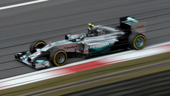 Mercedes con un