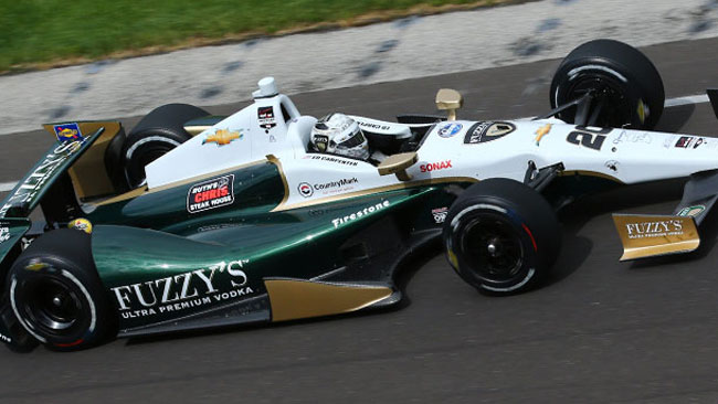 Indy 500, Q1: Carpenter guida il gruppo della