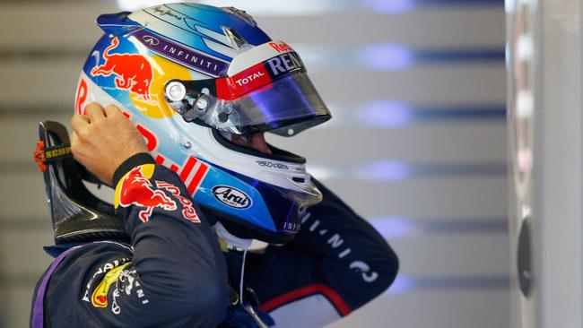 Vettel duro con la Red Bull RB10: