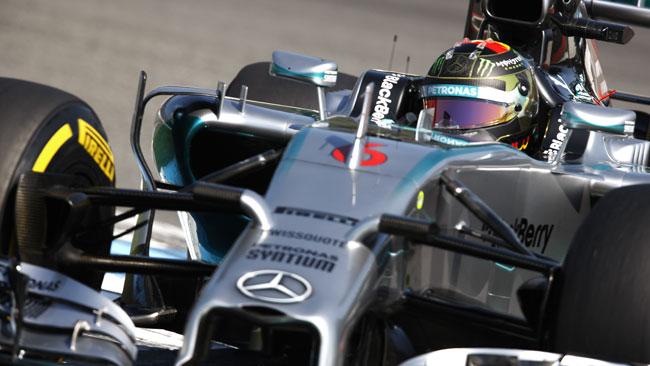 Rosberg prundente: