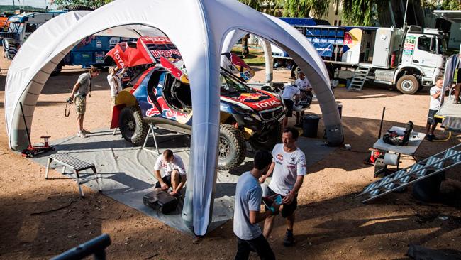 Dakar: Famin: