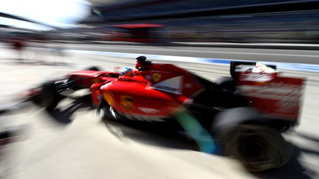 La Ferrari col muso