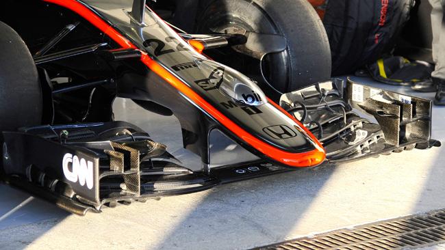 McLaren: la presa freni usa la gomma come