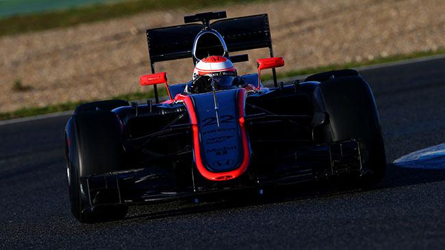 Jerez, Day 4, Ore 13; Button porta la McLaren sull'1'28
