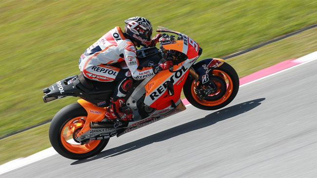 Sepang, Day 3, Ore 15: Marquez scende sotto all'1'59