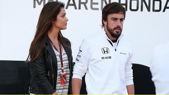 Alonso, la fidanzata: