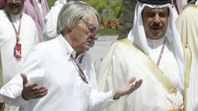 Bahrein, Ecclestone: