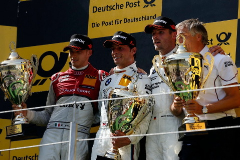 Podium na Nürburgringu | Fot. dtm.de