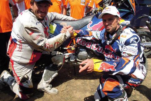 Marek Dąbrowski i Cyril Despres | Fot. Orlen Team
