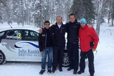 Nico Fuchs w Juha Kankkunen Driving Academy | Fot. Facebook