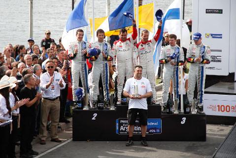 Podium Rally Argentina | Fot. Citroen