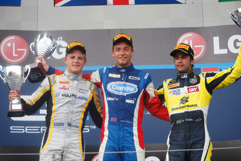 Podium na Hungaroringu | Fot. GP2 Series