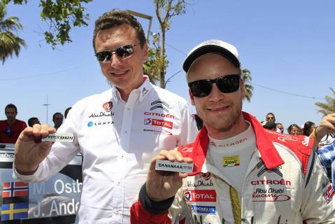 Marek Nawarecki i Mads Østberg   Fot. Citroën Racing