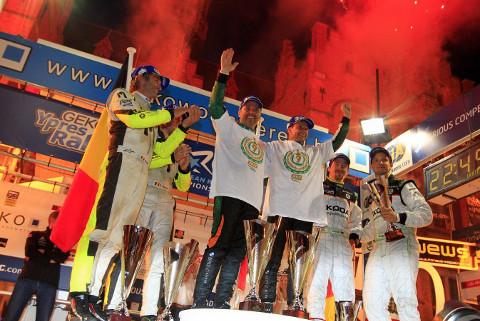 Podium Geko Ypres Rally | Fot. ERC