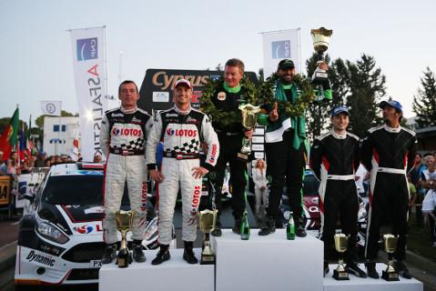 Podium Cyprus Rally | Fot. ERC