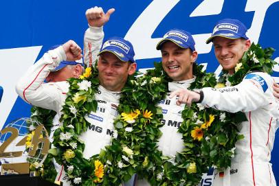Zwycięzcy 24 godzin Le Mans | Fot. Porsche