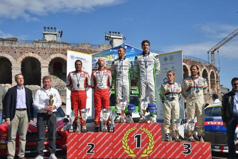 Podium Rally Due Valli | Fot. ACI Sport