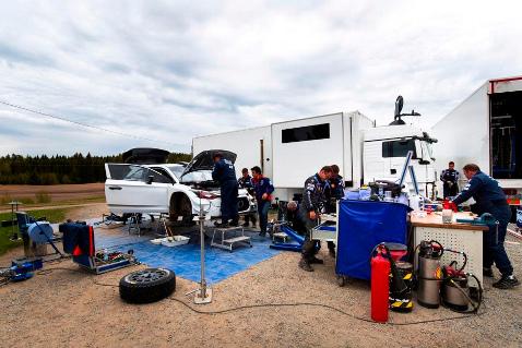 Testy Hyundaia w Finlandii | Fot. Hyundai Motorsport