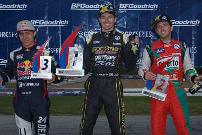 Podium w Thompson | Fot. GRC