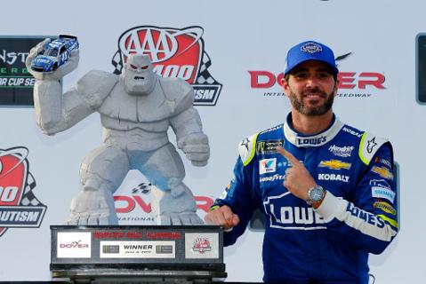 Jimmie Johnson | Fot. NASCAR