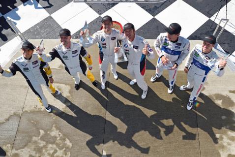 Zwycięzcy GT Le Mans | Fot. BMW Motorsport