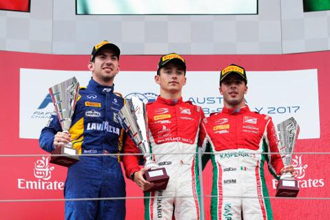 Podium na Red Bull Ringu   Fot. F2