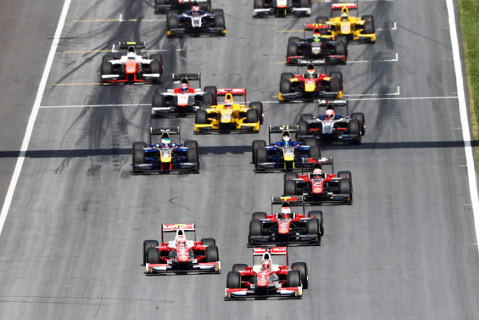 Start na Red Bull Ringu   Fot. FIA F2