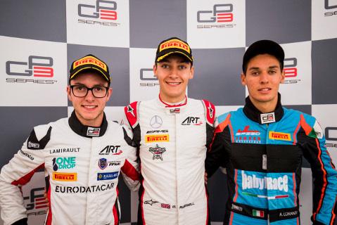 Podium na Silverstone | Fot. GP3