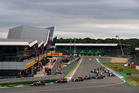 Start na Silverstone | Fot. GP3