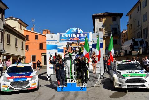 Podium Rally San Marino | Fot. ACI Sport