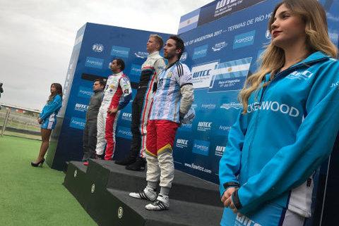 Podium WTCC Race of Argentina   Fot. WTCC