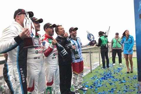 Podium WTCC Race of Argentina | Fot. WTCC